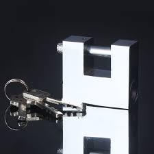 <b>Professional</b> Rectangular <b>Anti theft</b> Padlock with key Safely <b>Security</b> ...