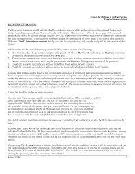 Resume Summary Paragraph  cover letter database developer resume
