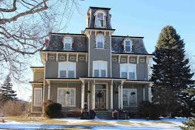 Home Architecture   VictorianSecond Empire Athens NY