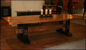 reclaimed wood tables custom dining tables and solid wood furniture on pinterest brown solid wood furniture
