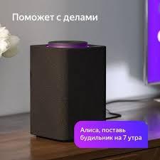Компьютерные <b>колонки Yandex Станция</b> YNDX-0001B Grey ...