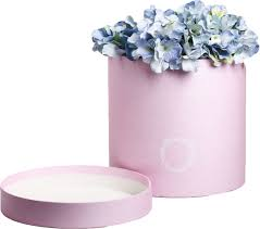 "<b>Подарочная коробка Дарите Счастье</b> ""Фламинго"", круглая ..."