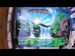 SPRAY PAINT <b>ART</b> Heavenly Valley <b>3D picture</b> - YouTube