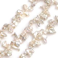 <b>Natural Freshwater Cultured Pearls</b> Beads for Jewellery Making ...