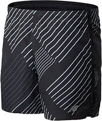 New Balance Mens Printed Accelerate 5in Short ... - Amazon.com