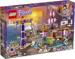 Конструктор <b>LEGO Friends</b> 41375 <b>Прибрежный</b> парк развлечений
