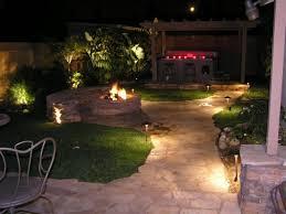 landscape lighting ideas walkways backyard landscape lighting