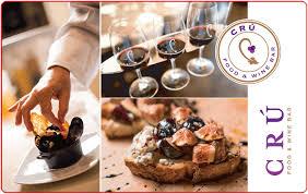 Gift Cards – CRÚ Food & Wine Bar :