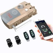 <b>Wireless</b> Door Lock Remote Control <b>Electronic</b> Anti theft Lock For ...