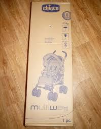 Обзор от покупателя на <b>Коляска</b>-<b>трость Chicco Multiway</b> Evo ...