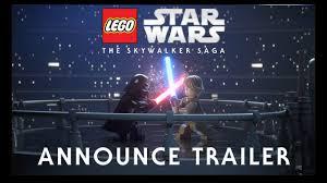 <b>LEGO Star Wars</b>: The Skywalker Saga - Official Reveal Trailer ...