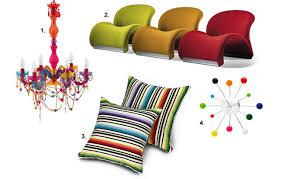 1 bright coloured furniture