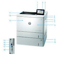 Серия <b>принтеров HP Color LaserJet</b> Enterprise M553