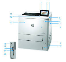 Серия <b>принтеров</b> HP <b>Color LaserJet Enterprise</b> M553