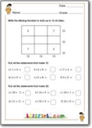 Addition Worksheet 1st Grade ,Download Maths Worksheets,Activities ...Addition Worksheet