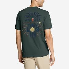 <b>Men's</b> Graphic T-shirt - Log In | Eddie Bauer
