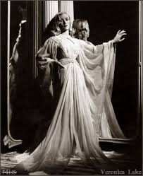 hollywood glamour: veronica lake i love these old fashioned evening garments