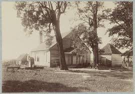 "<b>House</b> in which ""<b>Stonewall</b> Jackson"" died, near Guinea's [i.e. Guinea ..."