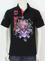 Ed Hardy Mens Short Sleeve <b>T</b>-<b>shirt LOVE KILLS</b> SLOWLY black ...