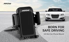 Mpow 051 Car Phone Mount, CD Slot Car Phone ... - Amazon.com