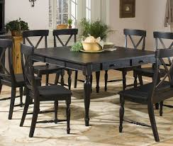 Distressed Dining Room Chairs Cute Black Distressed Dining Table