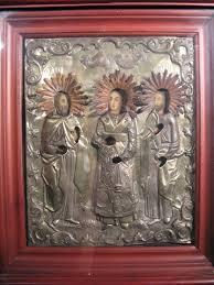 Икона <b>мучеников Гурия</b>, <b>Самона</b> и Авива | Храм Живоначальной ...