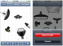 iphone photography app  strobox lighting diagram creator   wedding    strobox iphone app screenshots