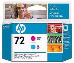 <b>Печатающая головка HP</b> Print Head №72 Magenta & Cyan ...
