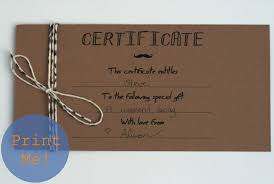 the petit cadeau printable gift certificates for men the secret to these in my opinion is the kraft paper card stock if you don t have any i highly recommend it it s so versatile for your craft projects