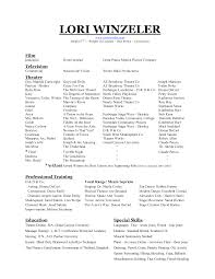 dance resume template for college college resume  dancer