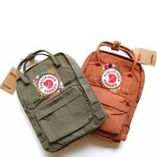 Pimped My fjallraven kanken with floral embroidery patches. Flower ...