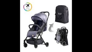 Teknum Travel Lite <b>Stroller SLD</b> - YouTube