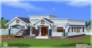 Bedroom single floor kerala house plan   Kerala home design and     bedroom single floor Kerala house   side view