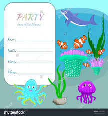 card birthday party invitation card template birthday party invitation card template image medium size