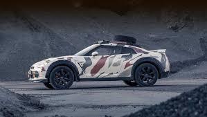 Nissan GT-R <b>Offroad</b> показал необычное применение спорткара ...