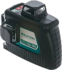 Лазерный уровень <b>KRAFTOOL LL 3D</b> #<b>2</b> [<b>34640-2</b>] купить в ...