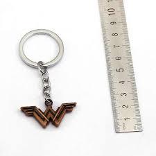 New Movie Jewelry Justice League Wonder Woman <b>Key Ring</b> W ...