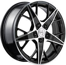 Литые диски <b>NZ</b> Wheels <b>F</b>-29 <b>6.5x16/5x112</b> D57.1 ET33 Черный, <b>F</b> ...
