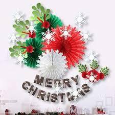 Online Review Merry <b>Christmas</b> Banner <b>Paper Decoration Kit</b> ...