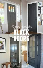 gray paint colors bedrooms painting painting your interior doors black gives your home a whole new style a