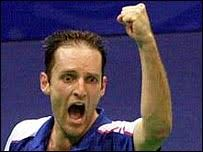 Simon Archer was Britain's first Olympic badminton medallist - _41260122_archer203