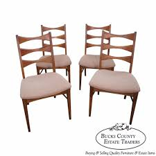 walnut dining table chairs vintage s jpg