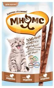 Лакомство для кошек <b>Мнямс Лакомые палочки</b> Индейка