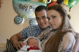 Photo of Michel Vorm & his  Son  Jaivy Waylon Vorm