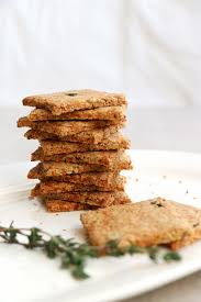 Parsnip and Thyme <b>Grain</b> Free Crackers (<b>grain</b>-free & vegan ...