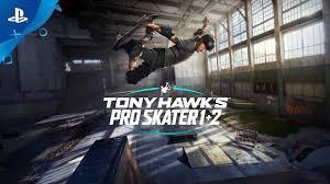 Tony Hawk's Pro <b>Skater</b> 1 + 2 - Announce Trailer   PS4 - YouTube