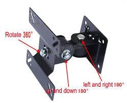 360 Degree <b>Full Motion 14 24 Inch LED</b> LCD TV Wall Mount Monitor ...
