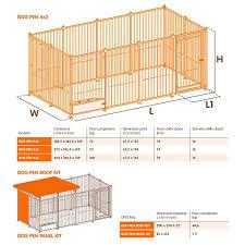 <b>Вольер DOG</b> PEN 2x2 металлический, <b>Ferplast</b> купить в интернет ...