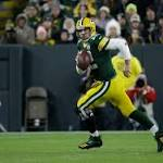 Aaron Rodgerss knee isnt quite right. But hes still good enough to carry the Packers.