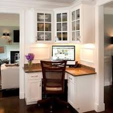 small home office designs with built in furniture in corners built home office desk ideas